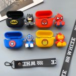 Silicone-Pendent-Doll-Superhero-Headphone-Cases-For