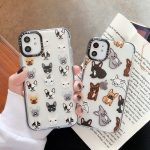 Personality-cute-dog-soft-TPU-mobile-phone iphone 11 pro max the phone stuff