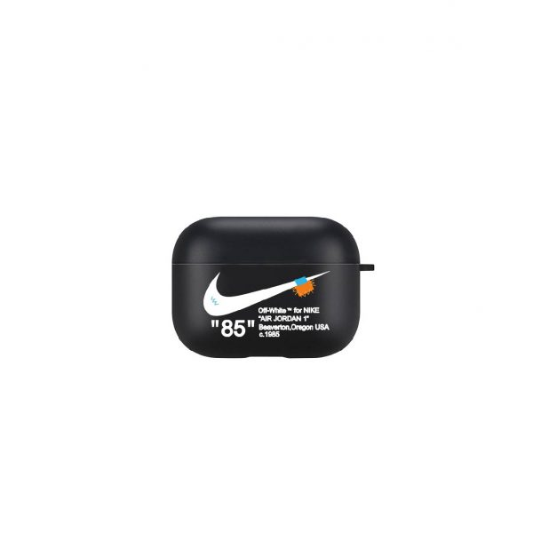 Airpods Pro Case Off White Nike Air Black Phone Accessories