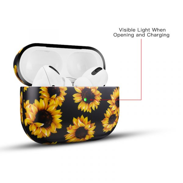 Airpods Pro Case Sunflowers Pattern
