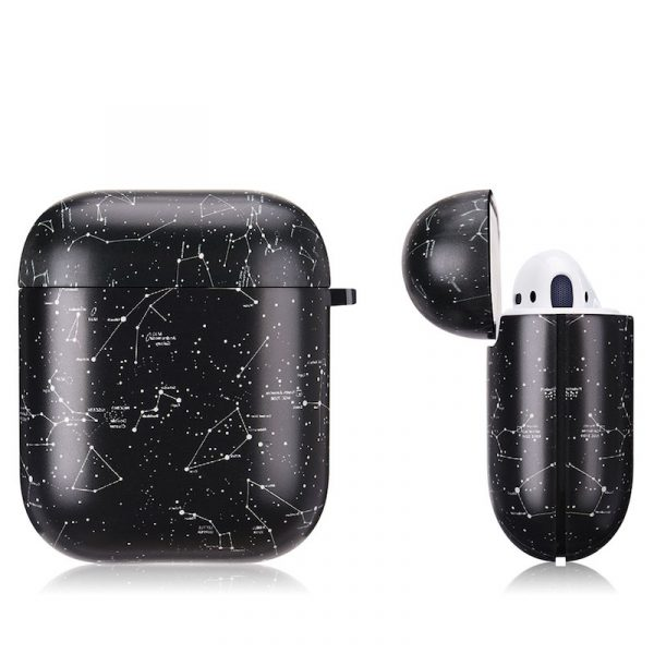 Airpods Case Gen 1/Gen 2 Galaxy Black