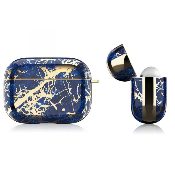 Airpods Pro Case Electroplating Blue/Gold